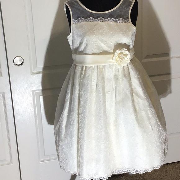 American Princess cream Dress